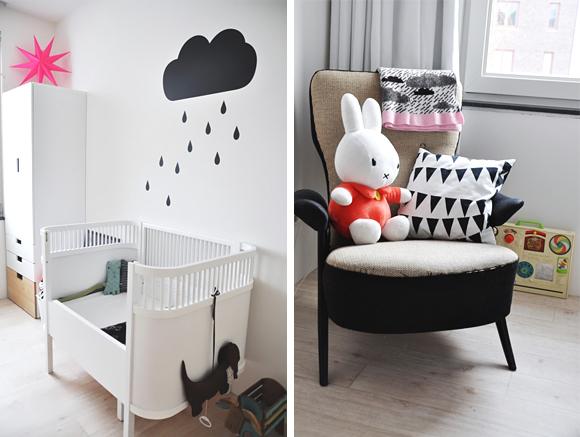 Coisas da MY – Decoração Preto e Branco para o Quarto do Bebê