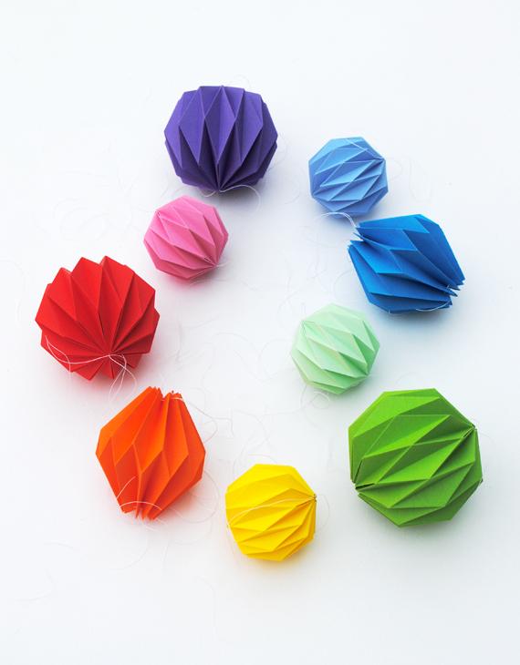 Guirlanda de origami 1